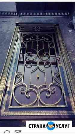 Ворота двери Грозный