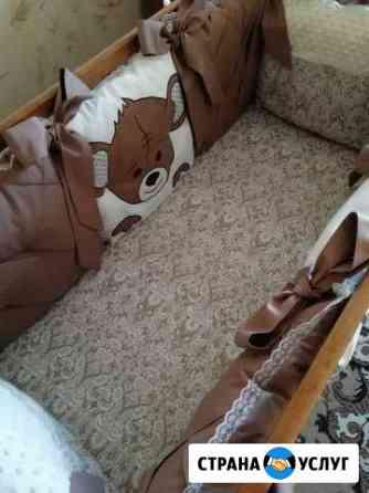 Шью на заказ комплекты в детскую кроватку Гнездышк Энгельс