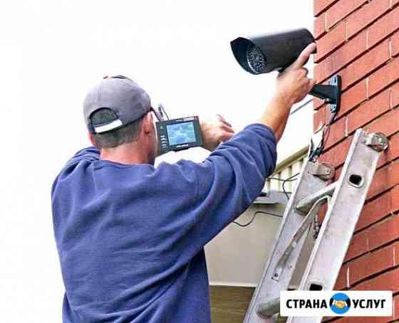 Установка видеонаблюдения,охранной GSM сигнализаци Ростов-на-Дону
