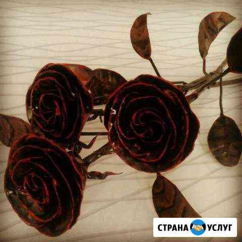Кованые розы Липецк