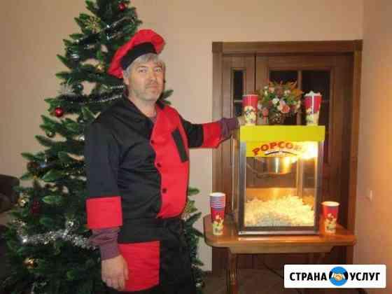 Аппарат попкорн и сладкая вата мороженное мягкое Майкоп