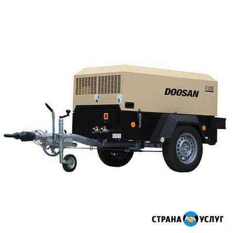 Аренда передвижного винтового дизельного компрессо Сыктывкар