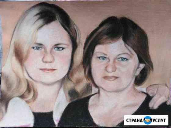 Портреты на заказ Новосибирск