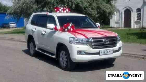 Прокат авто на свадьбы, торжества с водителем Тверь