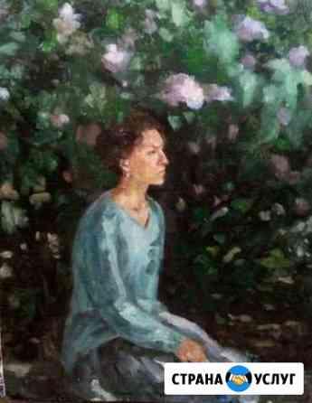 Портреты в живописи и графике, картины маслом Волгоград