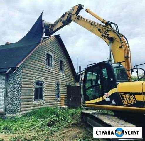 Снос домов Вырубка деревьев Черкесск