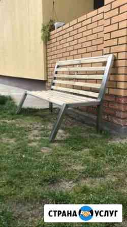 Изготовление скамеек из нержавеющей стали Рязань