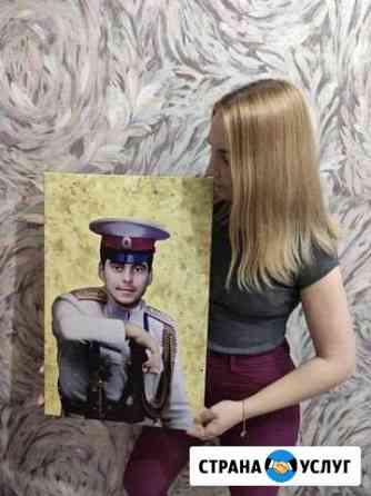 Портрет по фото Самара