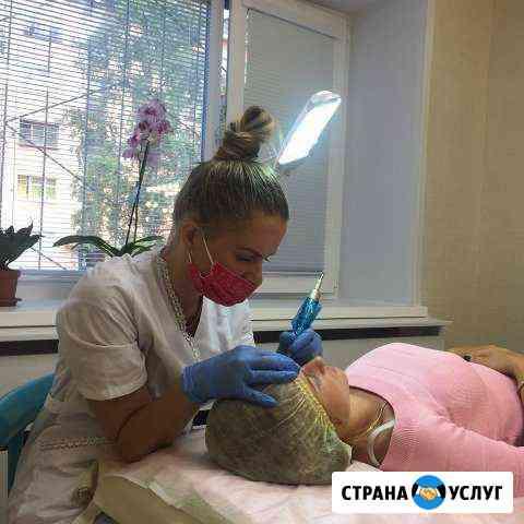 Перманентный макияж в технике напыление пигментом Северодвинск