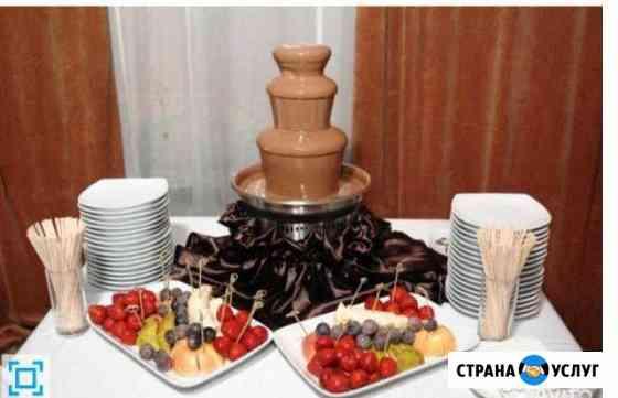 Шоколадный фонтан Омск