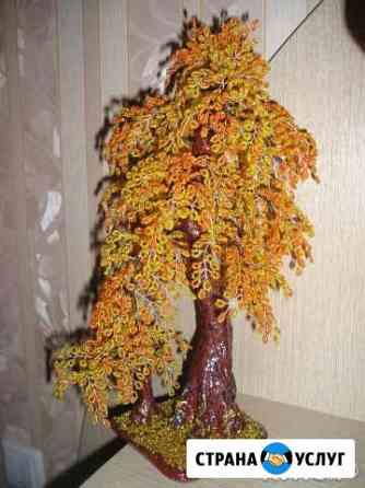 Деревья и цветы из бисера Ульяновск