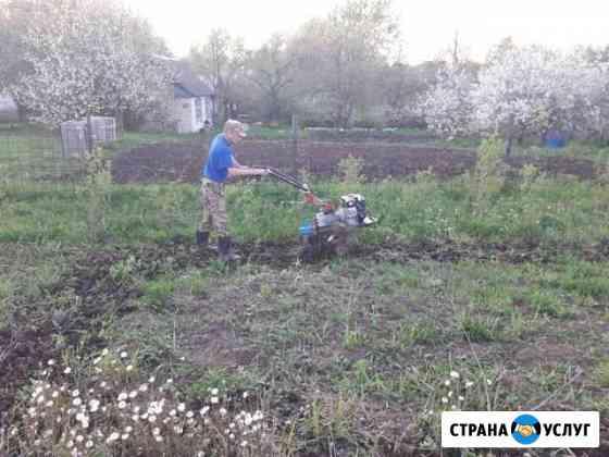 Вспашка земли мотоблоком, скос травы бензокосилкой Новочебоксарск