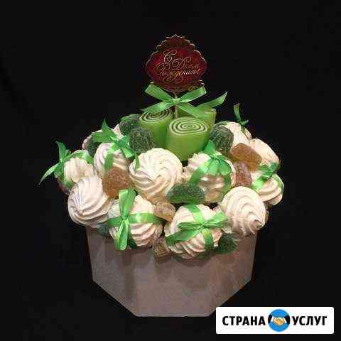 Фруктовые букеты, мужские букеты, сладкихе Хабаровск