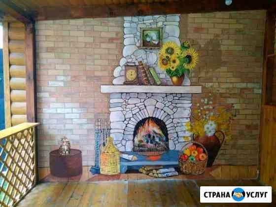 Роспись стен в Брянске Брянск