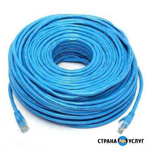 Изготовление интернет кабелей Воркута