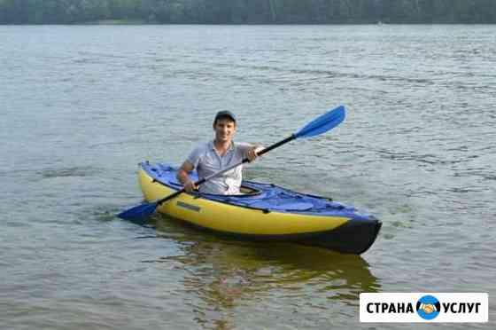 Прокат, аренда байдарок и лодок. Организация водны Ангарск