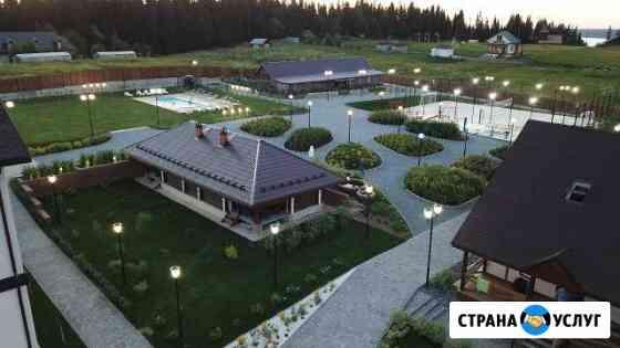 Аэросъемка (съемка с воздуха) с квадрокоптера Пермь