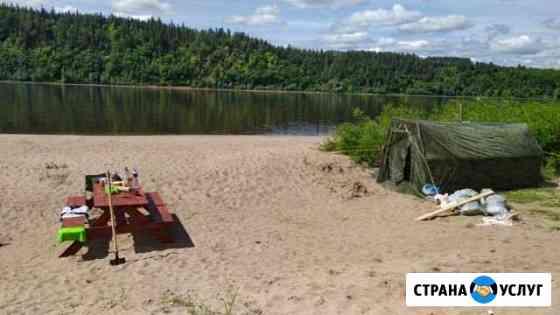 Отдых на берегу реки Камы Ижевск