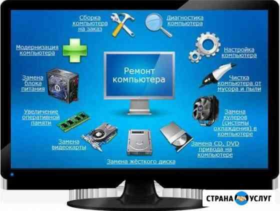 Универсальная компьютерная помощь Симферополь