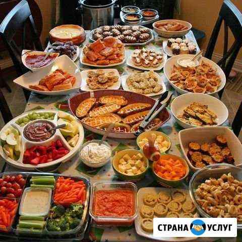 Доставка еды. Проведение мероприятий Курск