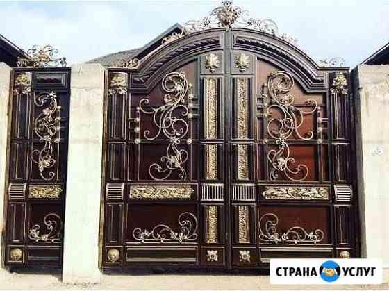 Любые виды металлоизделий, кованные двери, ворота Нальчик