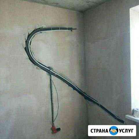 Установка, закладка трубы сплит систем Ростов-на-Дону
