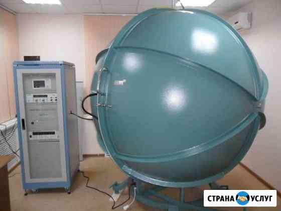 Измерение параметров ламп светильников прожекторов Новосибирск