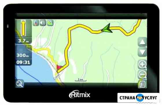 Обновление карт в навигаторах Смоленск