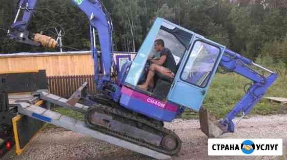Услуги мини экскаватора Тюмень