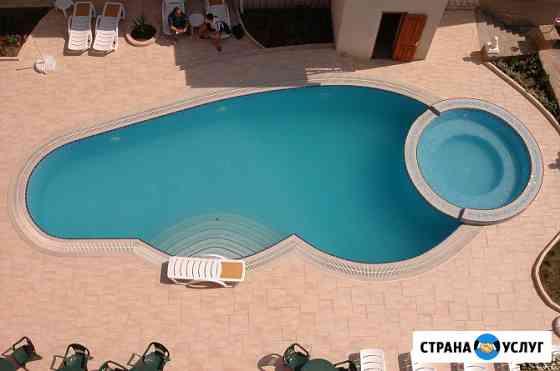 """Строительство бассейнов """"под ключ"""" Омск"""