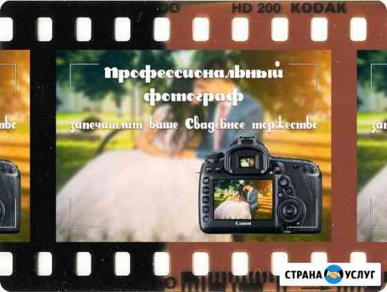 Профессиональный фотограф Киржач