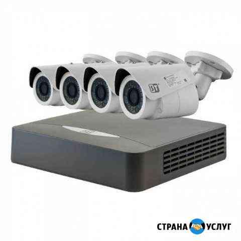 Установка видеонаблюдения, домофоны, сигнализация Касумкент
