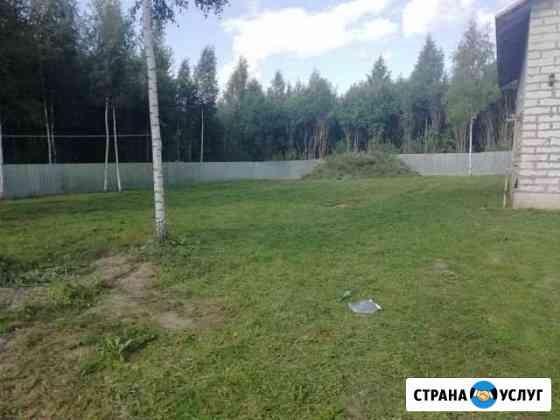 Покос травы Смоленск