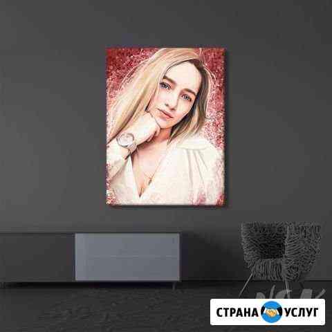 Портреты на холсте Новосибирск