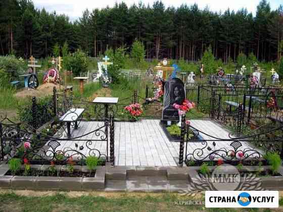 Благоустройство мест захаронения Мантурово
