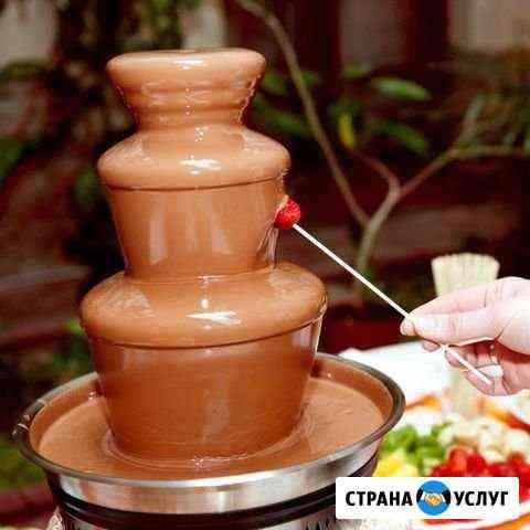 Шоколадный фонтан на праздник Омск