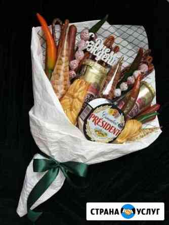 Вкусный съедобный букет (бокс) Кстово