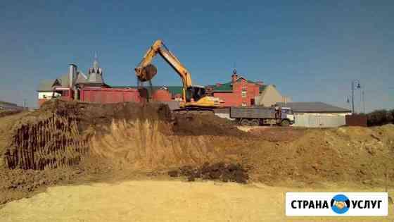 Доставка песка, глины, чернозем в Тамбов и области Тамбов