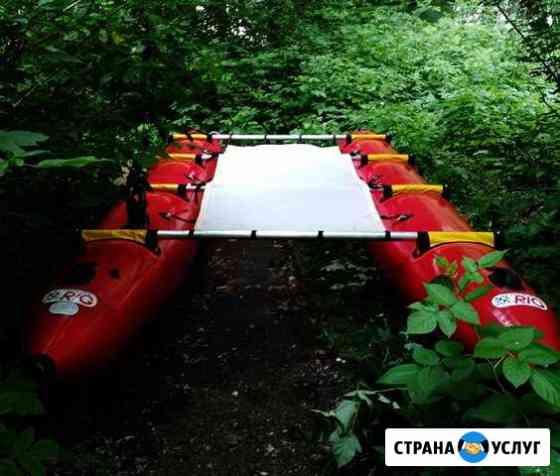 Прокат катамаранов, рафтов, лодок, палаток в Уфе Уфа