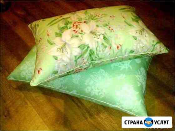 Реставрация подушек и одеял Рязань