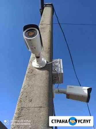 Установка систем видеонаблюдения под ключ Курск