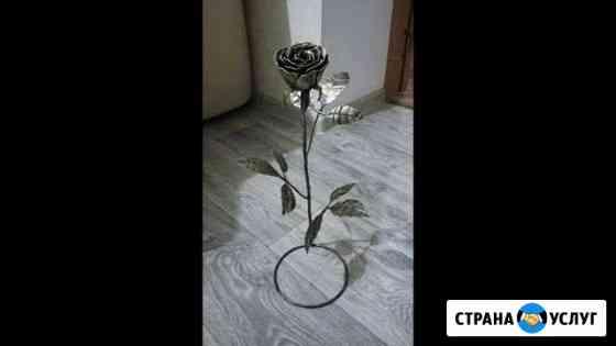 Изготовление Роз из метала под заказ Погар