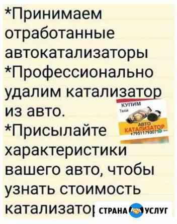 Примем автокатализаторы Прокопьевск