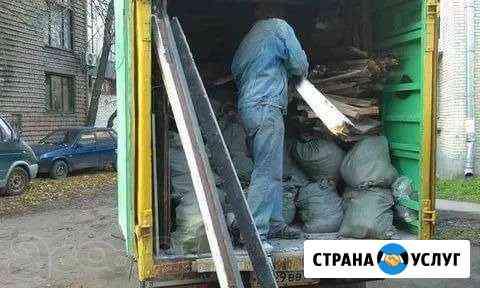 Вывезу мусор и старую мебель газель, грузчики Кемерово
