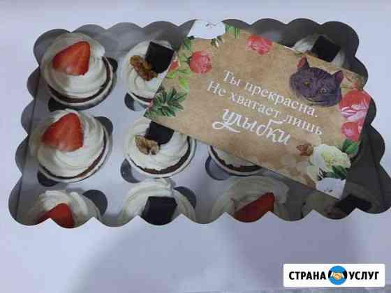 Капкейки, трайфлы Тирамису Владимир