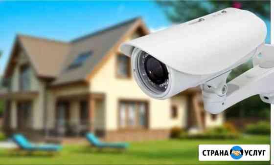 Видеонаблюдение монтаж ремонт обслуживание Уфа