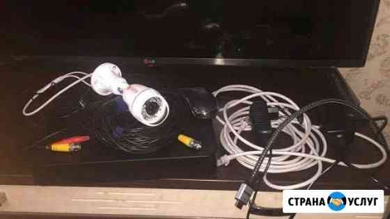Монтаж Видеонаблюдения, Домофона, Охранной Сигнали Новосибирск