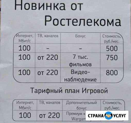 Интернет+телевидение+видеонаблюдение Комсомольск-на-Амуре
