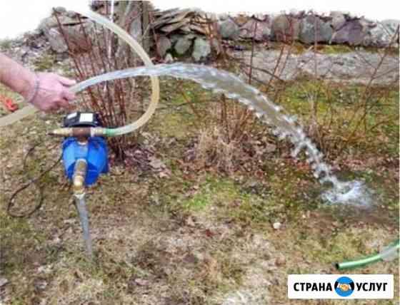Бурение скважин под воду Нарьян-Мар