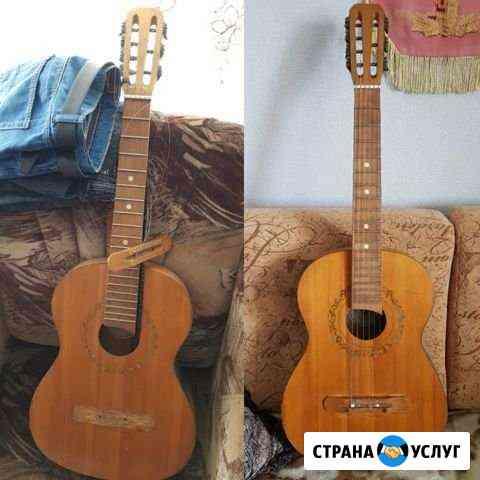 Ремонт гитар, укулеле Кемерово
